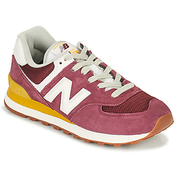 Skor Dam Sneakers New Balance 574 Bordeaux