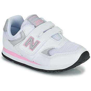 Skor Flickor Sneakers New Balance 393 Vit / Rosa