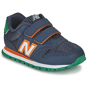 Skor Pojkar Sneakers New Balance 500 Blå / Orange