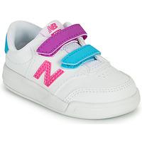 Skor Flickor Sneakers New Balance COURT Vit / Rosa