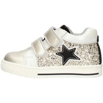 Skor Flickor Sneakers Balocchi 606224 Platinum