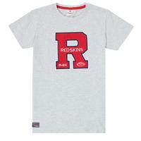 textil Pojkar T-shirts Redskins TSMC180161-BLENDED-GREY Grå