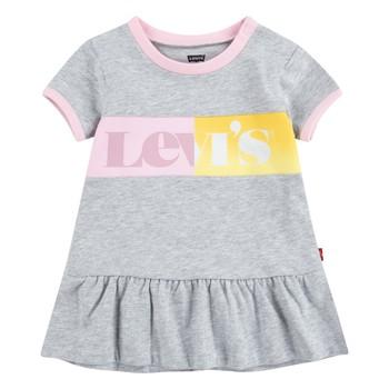textil Flickor Korta klänningar Levi's 1EC694-G2H Grå