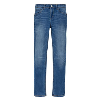 textil Pojkar Skinny Jeans Levi's 510 ECO PERFORMANCE Blå