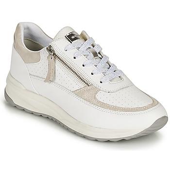 Skor Dam Sneakers Geox D AIRELL A Vit / Beige