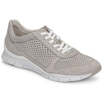 Skor Dam Sneakers Geox D SUKIE B Grå