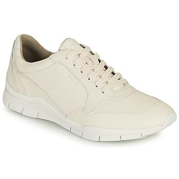 Skor Dam Sneakers Geox D SUKIE A Vit