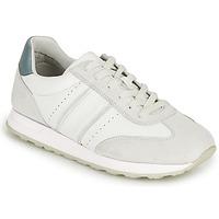 Skor Herr Sneakers Geox U FIDENZA B Vit / Blå