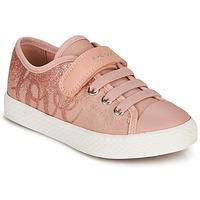 Skor Flickor Sneakers Geox JR CIAK GIRL Rosa
