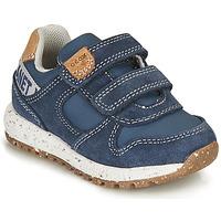 Skor Pojkar Sneakers Geox B ALBEN BOY B Blå / Brun