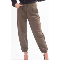 textil Dam Chinos / Carrot jeans Fracomina F320WP7001W05201 Färglös