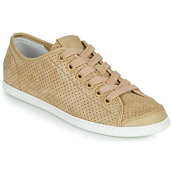 Skor Dam Sneakers Camper UNO Beige