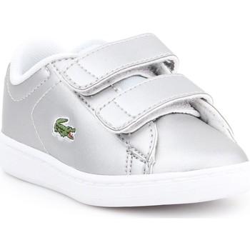 Skor Barn Sneakers Lacoste Carnaby EVO 317 6 SPI 7-34SPI0006334 silver