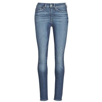 textil Dam Skinny Jeans G-Star Raw 3301 Ultra High Super Skinny Wmn Blå