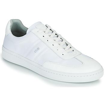 Skor Herr Sneakers BOSS RIBEIRA TENN NYLT Vit