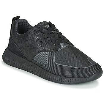 Skor Herr Sneakers BOSS TITANIUM RUNN TBJQ Svart