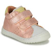 Skor Flickor Sneakers Bisgaard TATE Rosa / Guldfärgad
