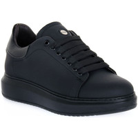 Skor Herr Sneakers Exton GOMMA NERO Nero