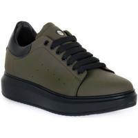 Skor Herr Sneakers Exton GOMMA MILITARE Verde