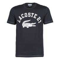 textil Herr T-shirts Lacoste GHOU Marin