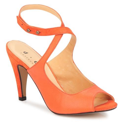 Skor Dam Sandaler D.Co Copenhagen MARISSA Orange