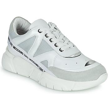 Skor Dam Sneakers Love Moschino JA15323G1C Vit