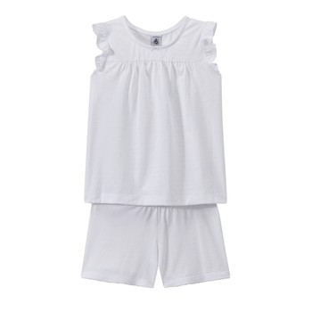 textil Flickor Pyjamas/nattlinne Petit Bateau FRIDGET Flerfärgad