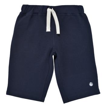 textil Pojkar Shorts / Bermudas Petit Bateau LAVIEN Marin