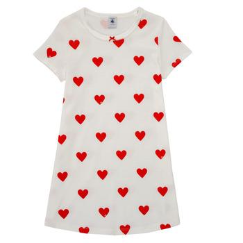 textil Flickor Pyjamas/nattlinne Petit Bateau MARAMA Flerfärgad