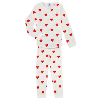 textil Flickor Pyjamas/nattlinne Petit Bateau MISON Flerfärgad