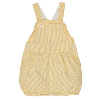 textil Flickor Uniform Petit Bateau MERINE Gul