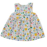 textil Flickor Korta klänningar Petit Bateau MELIANA Flerfärgad