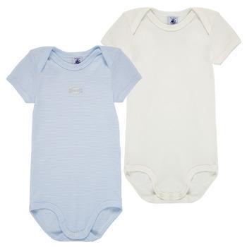 textil Pojkar Pyjamas/nattlinne Petit Bateau A00AM-00 Flerfärgad