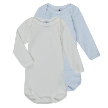 textil Pojkar Pyjamas/nattlinne Petit Bateau A00AR-00 Flerfärgad