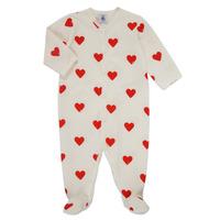 textil Flickor Pyjamas/nattlinne Petit Bateau MESCOEURS Vit