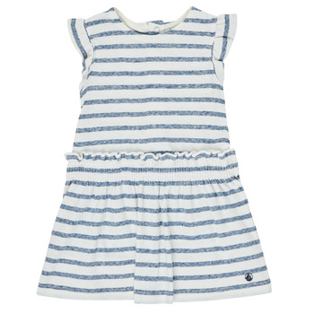 textil Flickor Korta klänningar Petit Bateau MILANAIS Flerfärgad