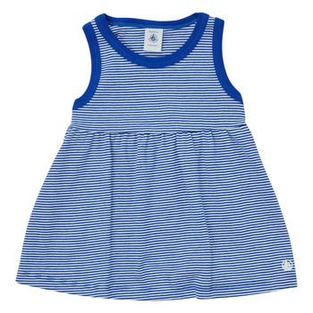 textil Flickor Korta klänningar Petit Bateau MEMBO Flerfärgad