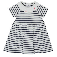 textil Flickor Korta klänningar Petit Bateau MEGHANE Flerfärgad