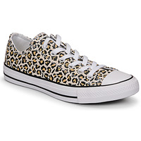 Skor Dam Sneakers Converse CHUCK TAYLOR ALL STAR ARCHIVE PRINT OX Leopard
