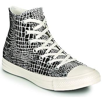 Skor Dam Höga sneakers Converse CHUCK TAYLOR ALL STAR DIGITAL DAZE HI Svart / Beige