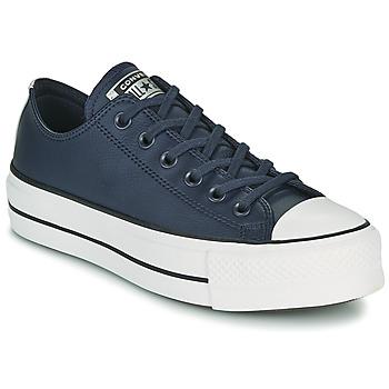 Skor Dam Sneakers Converse CHUCK TAYLOR ALL STAR LIFT ANODIZED METALS OX Blå