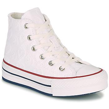 Skor Flickor Höga sneakers Converse CHUCK TAYLOR ALL STAR LIFT LOVE CEREMONY HI Vit
