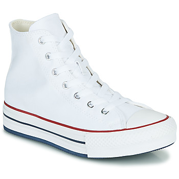 Skor Flickor Höga sneakers Converse CHUCK TAYLOR ALL STAR EVA LIFT CANVAS COLOR HI Vit