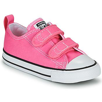 Skor Flickor Sneakers Converse CHUCK TAYLOR ALL STAR 2V  OX Rosa