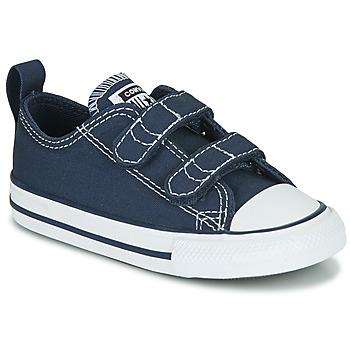 Skor Barn Sneakers Converse CHUCK TAYLOR ALL STAR 2V  OX Blå