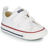 Skor Barn Sneakers Converse CHUCK TAYLOR ALL STAR 2V FOUNDATION OX Vit