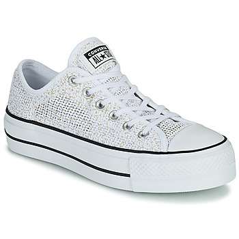 Skor Dam Sneakers Converse CHUCK TAYLOR ALL STAR LIFT BREATHABLE OX Vit