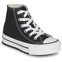 Skor Flickor Höga sneakers Converse CHUCK TAYLOR ALL STAR EVA LIFT CANVAS COLOR HI Svart