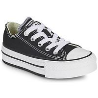 Skor Flickor Sneakers Converse CHUCK TAYLOR ALL STAR EVA PLATFORM FOUNDATION OX Svart