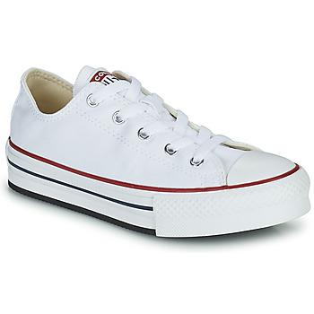 Skor Flickor Sneakers Converse CHUCK TAYLOR ALL STAR EVA PLATFORM FOUNDATION OX Vit